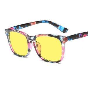 Blue Light Filter Gaming Glasses - Floral 2 - health and wellness