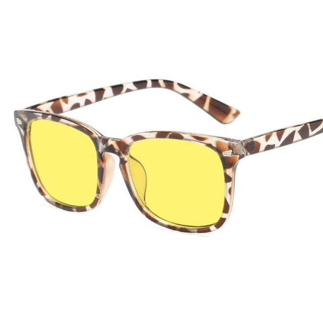 Blue Light Filter Gaming Glasses - Leopard 2 - health and wellness