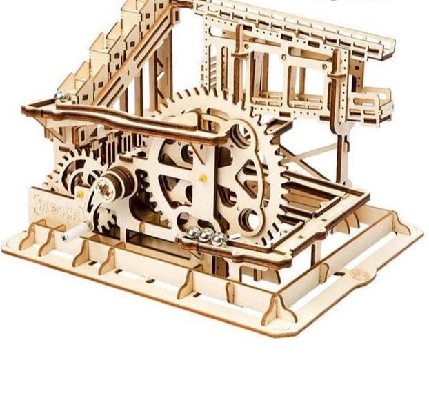 DIY Waterwheel Coaster Building Kit Toy - Cog coaster - Toys