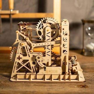 DIY Waterwheel Coaster Building Kit Toy - Toys