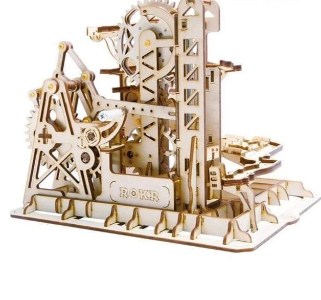 DIY Waterwheel Coaster Building Kit Toy - Tower coaster - Toys