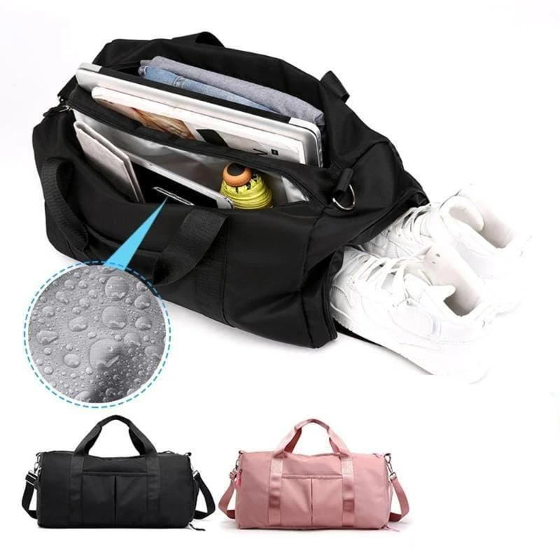 DuffelBuddy - Wet & Dry Gym Duffel Bag with Shoes Pocket - Consumer Goods
