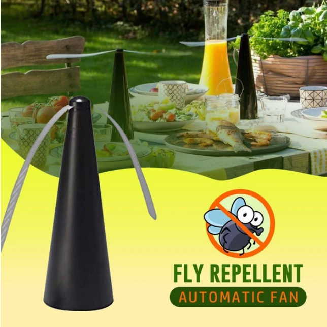 FlyAway - Soft Blade Automatic Fly Repelling Fan - Consumer Goods