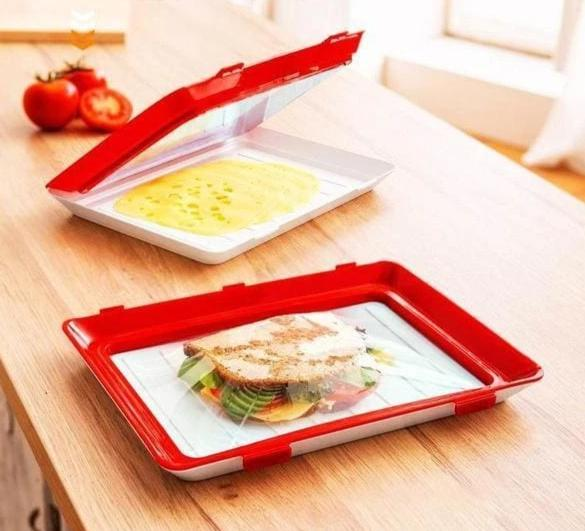 Food Preservation Stackable Tray - Consumer Goods