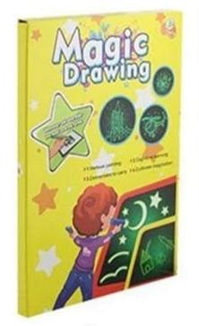 Fun Glowing Sketchpad - A4 33CM - Consumer Goods