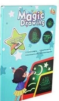 Fun Glowing Sketchpad - A5 24CM - Consumer Goods