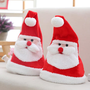 Lighted Dancing & Singing Santa Hat - Fashion Beauty