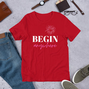Begin - Short-Sleeve Unisex T-Shirt