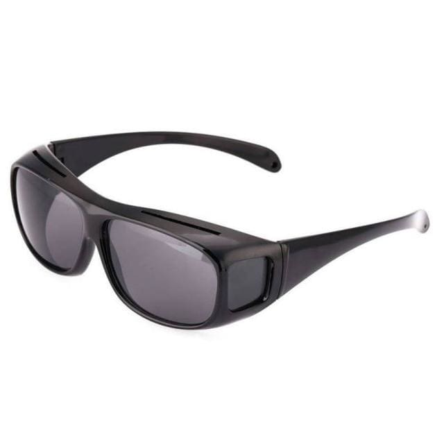 Night Driving Anti Glare Glasses - Black - Consumer Goods
