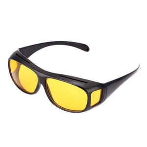 Night Driving Anti Glare Glasses - Yellow - Consumer Goods
