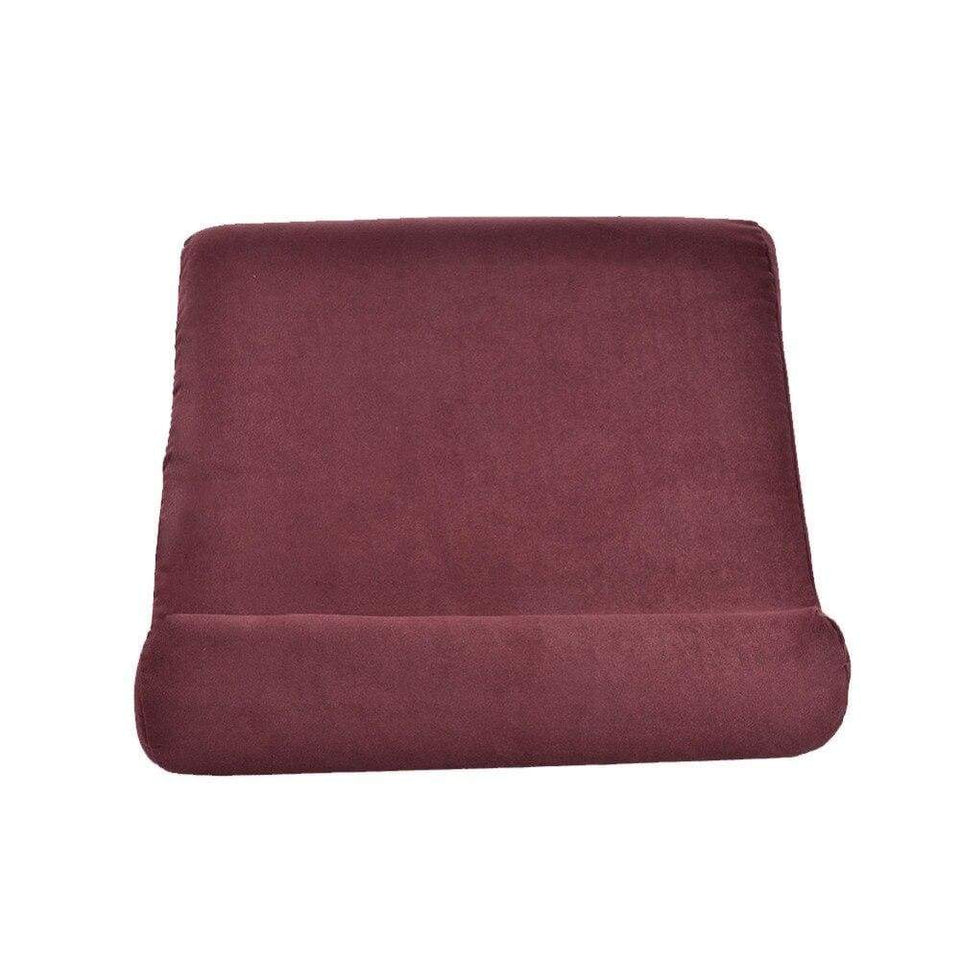 Pillow Pad - Lapdesk for iPad phone tablet and books - Red - Laptop accessories