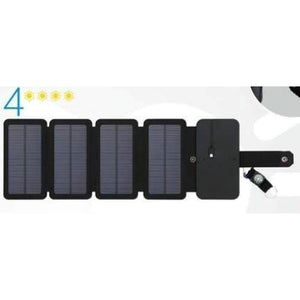DD - Solar Powered Foldable Phone Charger - 4 Solar Panels