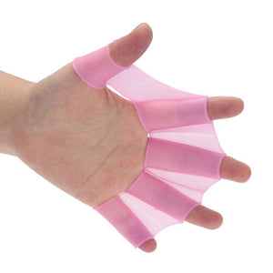 Swimming Webbed Gloves - Pink / L - Consumer Goods