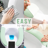 Toilet Cushion - Washable Self-Adhesive Toilet Seat Pad - Consumer Goods
