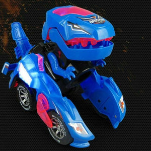 Transformer Dinosaur LED Car - Toys