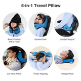 Travel Pillow with Detachable Hood - Consumer Goods
