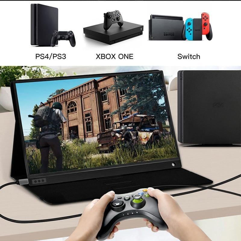 Ultra Thin Portable Work and Gaming Monitor (15.6) - Consumer Goods