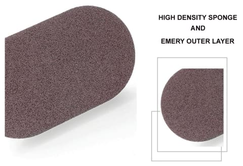 1 Multipurpose Kitchen Emery Scrub Sponge