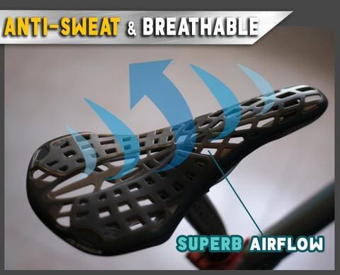 Inbuilt Saddle Suspension