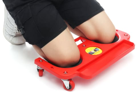 Safety Rolling Knee Pad