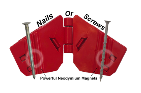 Finger Saver - Magnetic Safety Nail Holder