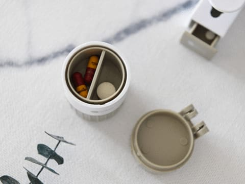 Easy Pill Cutter & Crusher & Storage