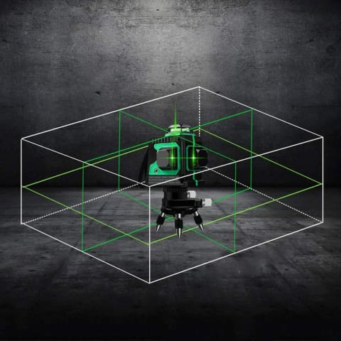 1 3D Auto-leveling Laser Level with Pulse Function