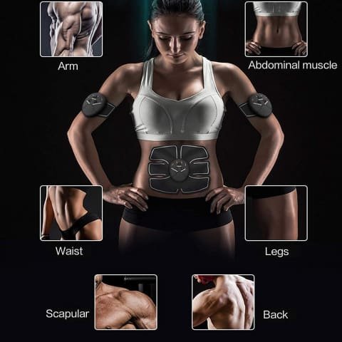 1 Abs and Buttocks Muscle Stimulator