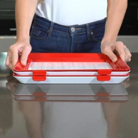 1 Food Preservation Stackable Tray