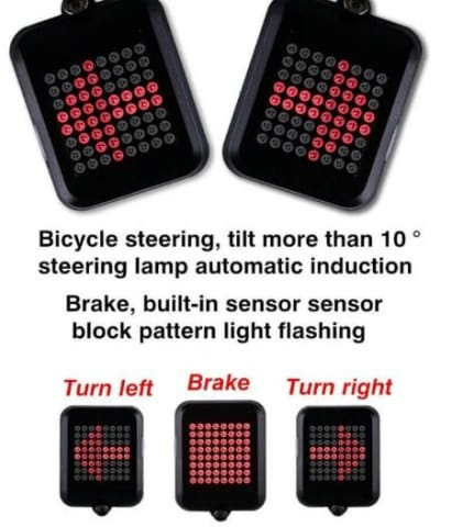 Bicycle Rear Direction Indicator