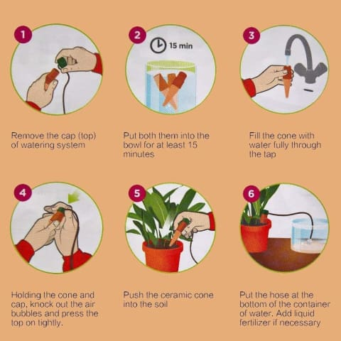 Automatic Self Watering Probes 8 pcs