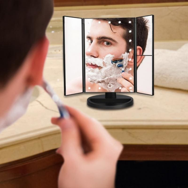 1 LED Light Touch Screen Makeup Mirror