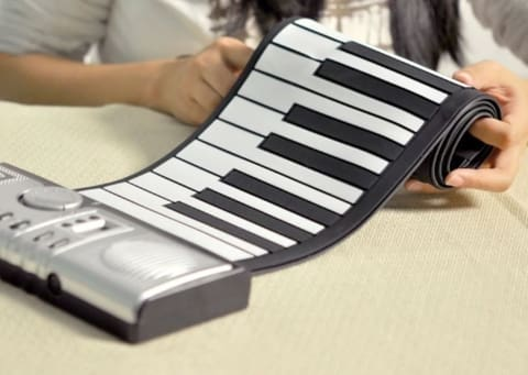 1 Portable Electric Rollup Keyboard Piano