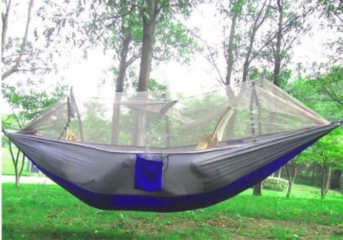 1 Camping Hammock Tent With Mosquito Net