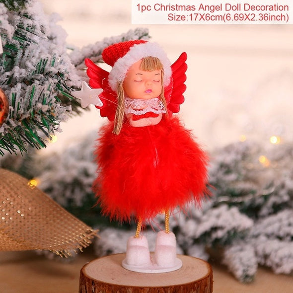 Angel Doll Christmas Pendants