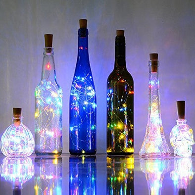 LED Lights Bottle Decoration