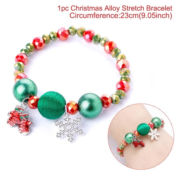 Christmas Earrings, Bracelets & Necklaces