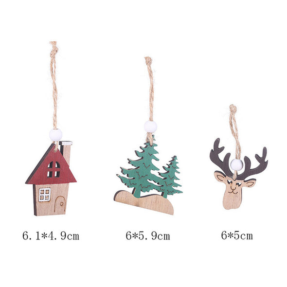Christmas Pendants (3pcs/set)