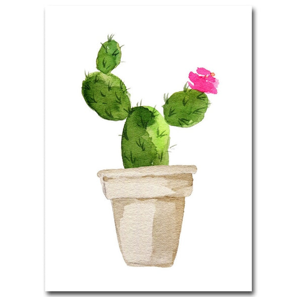 Cactus on Canvas