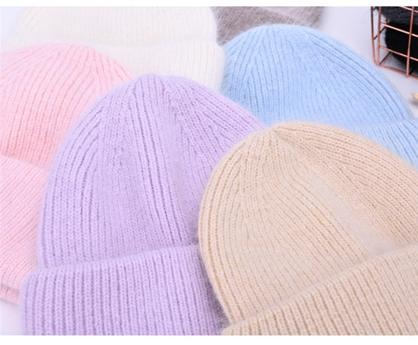 Cashmere Double-Folded Beanies (Launch Price)