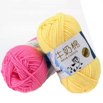 Soft Milk Cotton Yarn