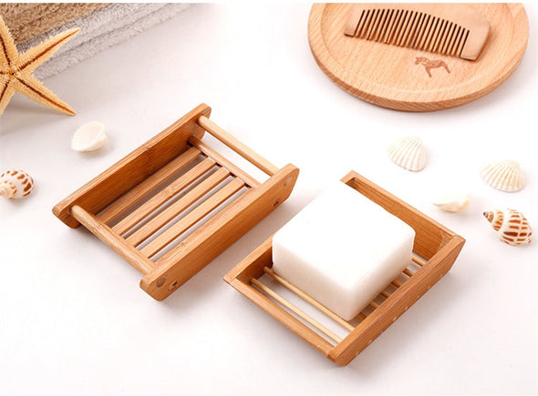 Bamboo Soap Box