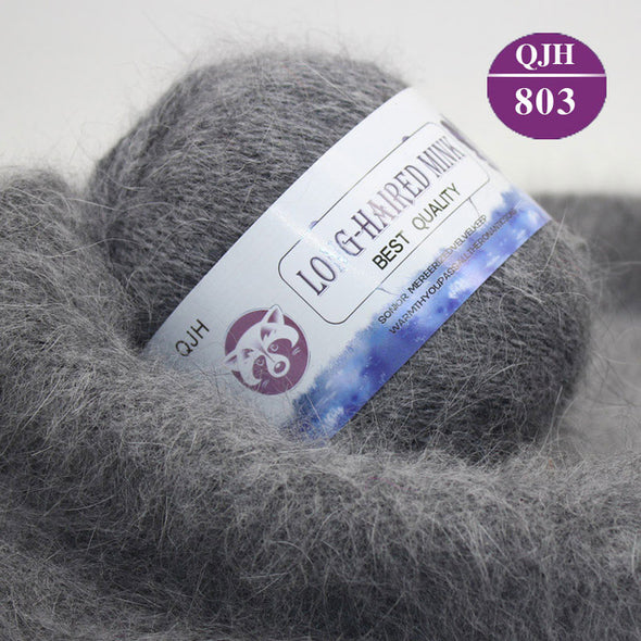 Long-Haired Mink Cashmere Yarn