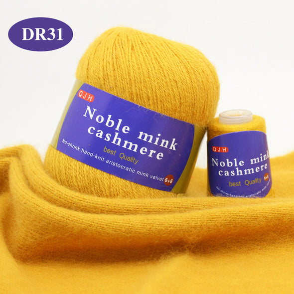 Noble Mink Cashmere Yarn
