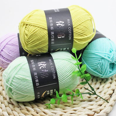 Baby Milk Cotton Yarn