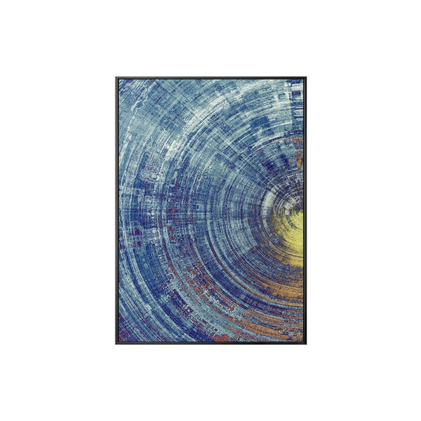 Abstract Circles on Canvas