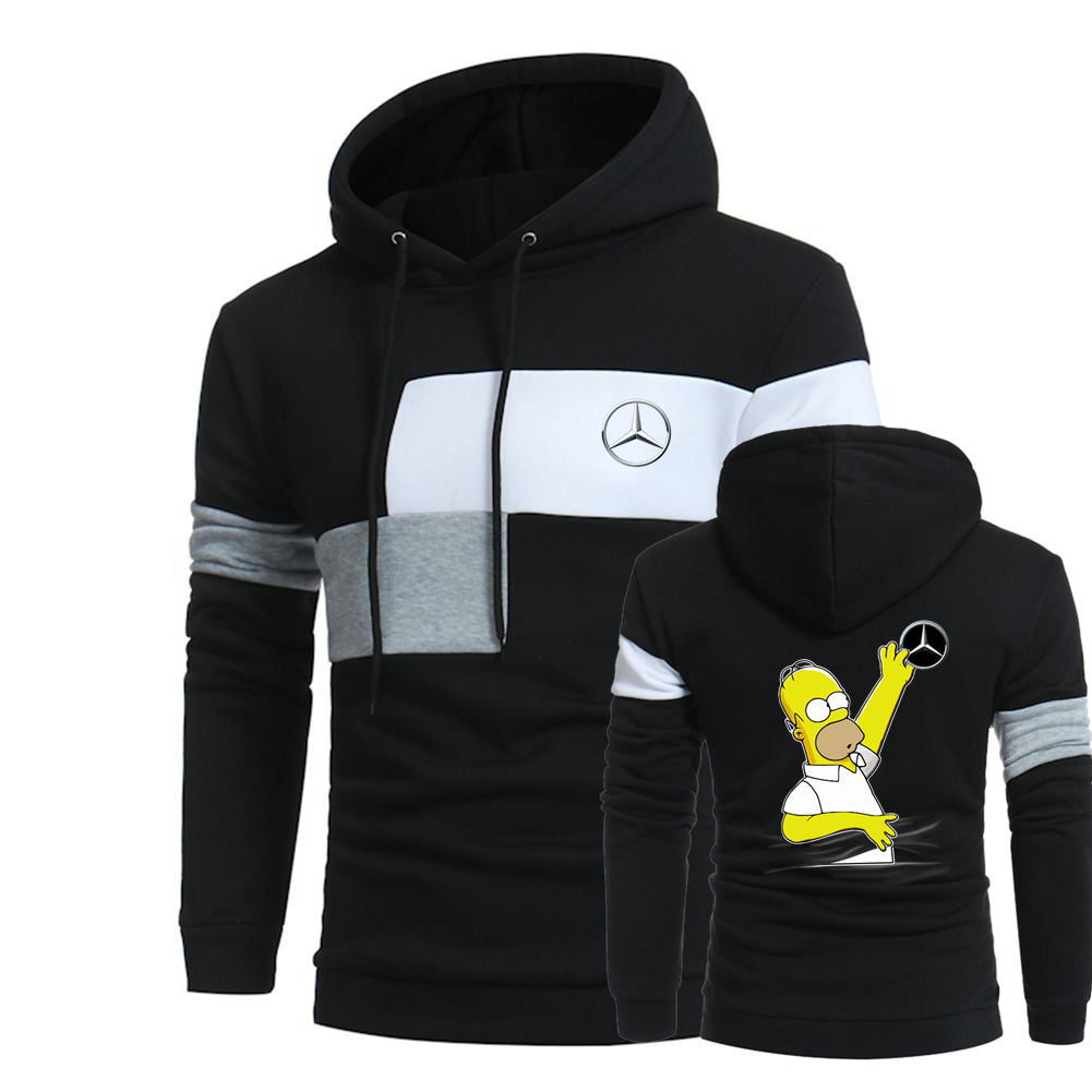 M.E.R.C.E.D.E.S HOMER HOODED SPORT SWEATSHIRT