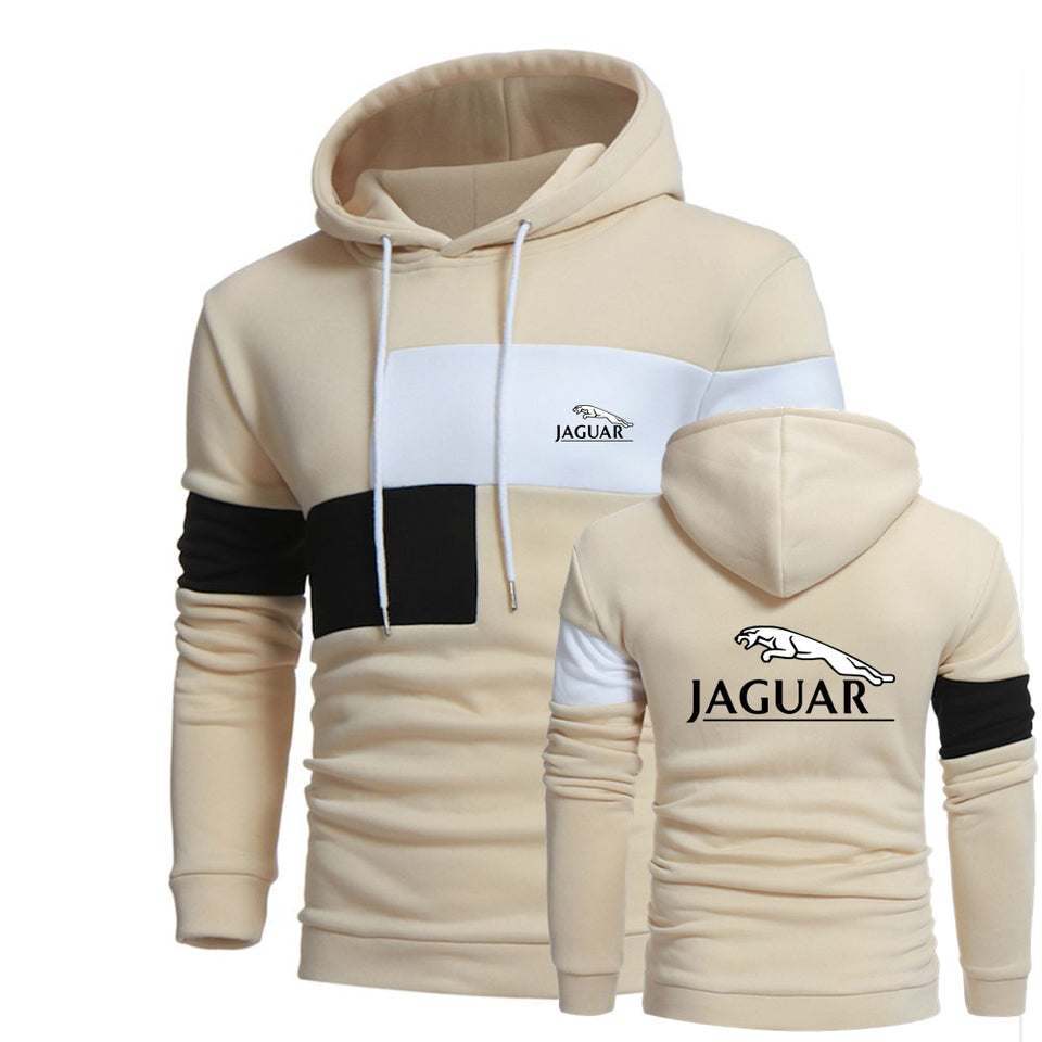 J.A.G.U.A.R HOODED SPORT SWEATSHIRT