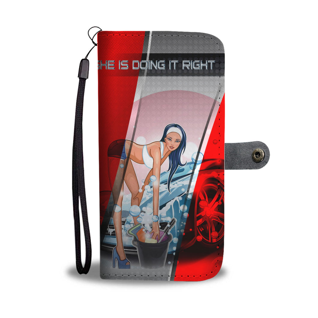 DOING IT RIGHT PHONE CASE