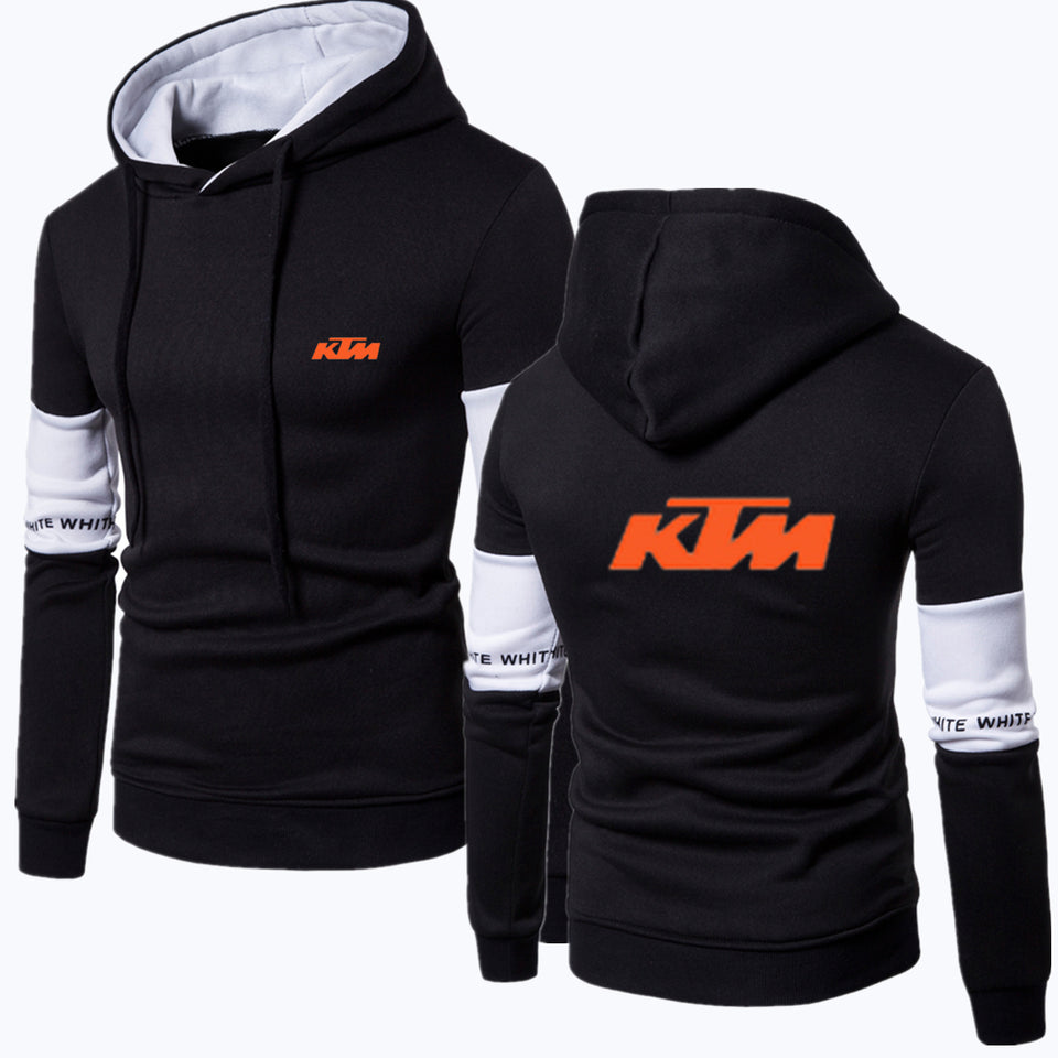 K.T.M B/W HOODED SPORT SWEATSHIRT
